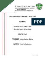 Antena Logaritmica Periodica
