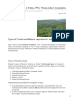 Gosarkari.com-Types of Forests in India-UPSC Notes-Indian Geography