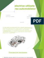 Motoare Electrice Utilizate În Acționarea Automobilelor