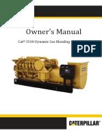 LEBW0025-00 Owner's Manual