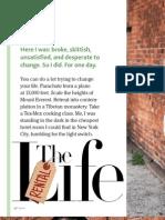 Spirit Magazine - Rent a Life