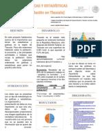 GRÁFICAS Y ESTADÍSTICAS (Población en Tlaxcala)
