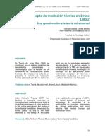 Concepto Mediación en Latour