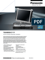 Panasonic Toughbook Cf19 Datasheet