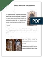 Arq, Gotica y Romanica