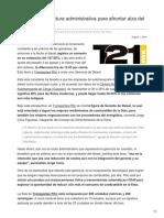 Pitic Ajusta Estructura Administrativa Para Afrontar Alza Del Diesel