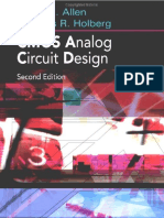 Analog CMOS Circuit Design - Allen & Holberg