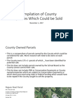 A Compilation of County Properties Which Could Be Sold