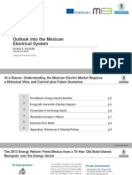 Outlook into the Mexican Electrical System