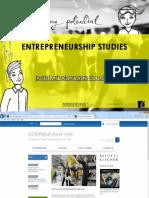 Entrepreneurship Sivuaineinfo