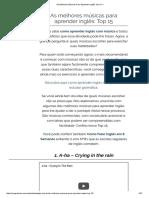 As Melhores Músicas Para Aprender Inglês.pdf