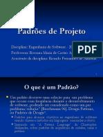 Padrões de projeto de software GoF