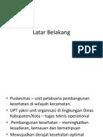 Profil Puskesmas Blahbatuh II Ppt (2) Ines
