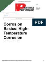 Corrosion Basics_ High-Temperature Corrosion