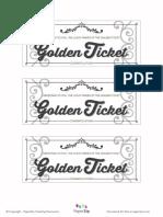 Black-white Golden Ticket