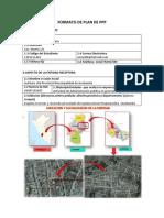 Formato de Plan de Ppp
