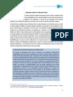 Apuntes Sobre La Reforma Fiscal - Copia