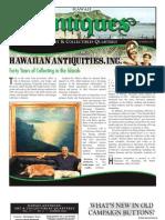 Hawaii Antigues, Art & Collectibles Quarterly-Summer- 08