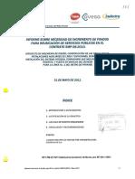 Justificacion Pm Info Informe Mu 1 Sobre Incremento de Monto Para Sp v00 110531 Con Sellos de La Contraloria