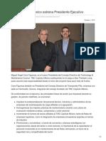 TMC Capítulo México estrena Presidente Ejecutivo