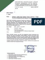 Revisi Undangan Lokalatih Bagi Pengelola Program Pamsimas II Tingkat Provinsi Dan Kabupaten Baru TA 2014