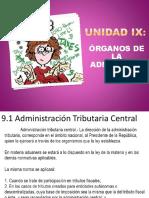 Unidad 9 Organos de La Administración
