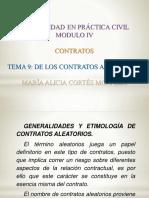 EXPOSICIÓN SOBRE LOS CONTRATOS ALEATORIOS.pptx