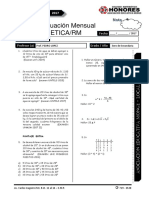 4 Examen Mensual 3ero SEC RM ARIT IZAG