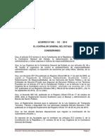 Acuerdo 005 CG 2014 Reglamento Para El Control Vehiculos Del Sector Publico