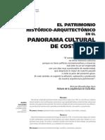 Patrimonio hist arqui en panorama cultural.pdf