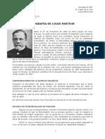 Biografia Pasteur