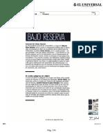 Bajo Reserva 20180118