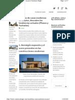 Ideas Casas Modernas Un Pi