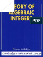 Theory of Algebraic Integers (Cambridge Mathematical Library).pdf