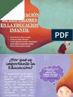 Implementacion de Los Valores en La Educacion Infantil