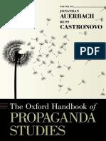 The Oxford Handbook of Propaganda Studies