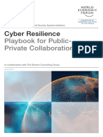 WEF Cyber Resiliance Playbook