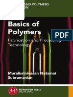 Basics of Polymers Fabrication and Processing Technology