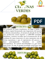 Aceitunas Verdes