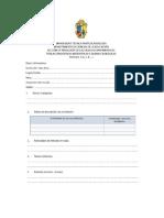 Ficha de Itinerario-procesos Didácticos