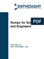 Into to Numpy