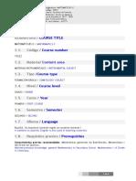 Guía Docente Matemáticas II