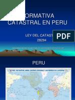 Diapositivas Catastro PLQ