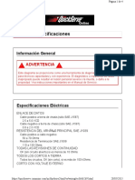 018-001   Especificaciones
