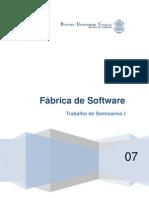 Seminarios I Trabalho Sobre Fabrica de Software