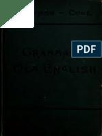 An Old English Grammar - Sievers 1903