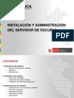 Instalación y Administración Del Servidor de Escuela