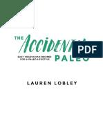 The Accidental Paleo