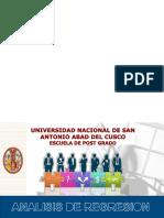 UNIDAD IV - Regresión, Correlación y Series de Tiempo