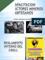 Capacitacion Conductores Mineros Artesanos